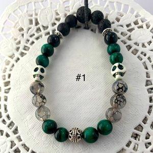 ⭐️ 2/30$ Green Dragon Gemstone Bracelet